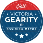 VicForMayor Dieline Sticker