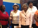 The Star of Bethlehem Choir opened the program with two rousing selections.