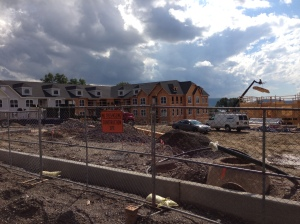 Have you driven through the Avalon development on North Highland?  The fences are down and a good chunk of the buildings are up.  Please share your thoughts on development in the survey...