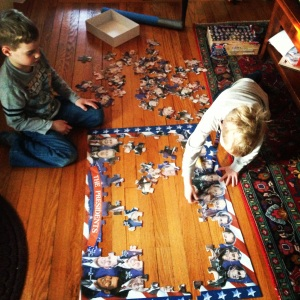 Presidential Puzzle