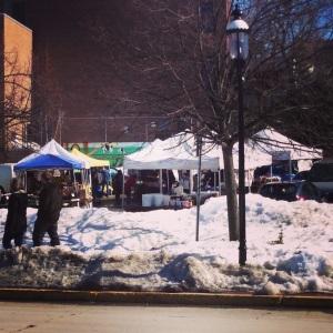 Snowy Market